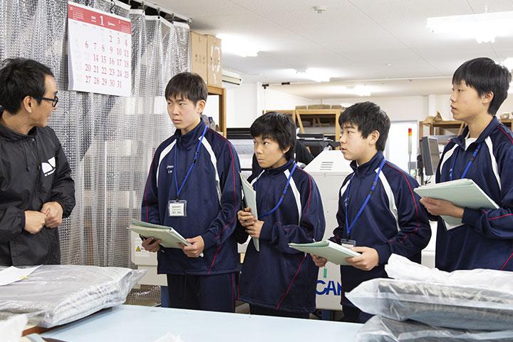 汐路中学校 遠藤さくら
