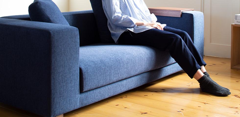 お部屋に合わせてソファの色を選んでみよう